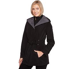 Women's Wildflower Hooded Belted Rain Jacket