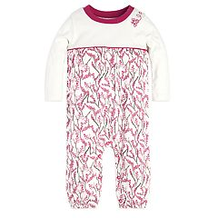 Baby Girl Burt's Bees Baby Organic Blooming Branches Coverall