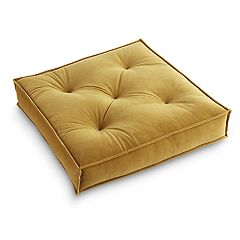 Tempo Home Victoria Velvet Gusseted Floor Throw Pillow