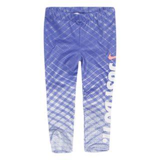 Toddler Girl Nike Shimmer Logo Leggings