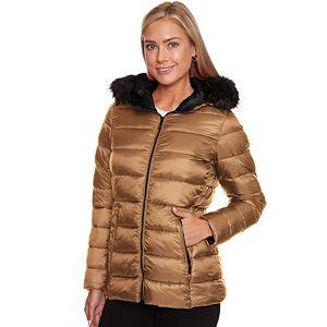 7ef2a3cc98f Women s HeatKeep Hooded Packable Puffer Down Jacket