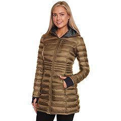 Women's Halitech Hooded Lightweight Packable Puffer Coat