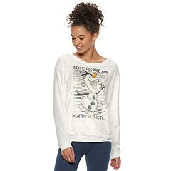 Disney's Frozen Juniors' Olaf 'Melting' Fleece Sweatshirt