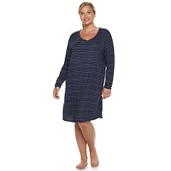 Plus Size SONOMA Goods for Life™ High-Low Sleepshirt