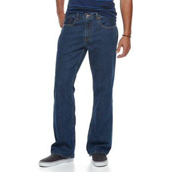 Urban Pipeline Men's Relaxed Bootcut Jeans