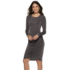 Women's Jennifer Lopez Ruched Sheath Dress