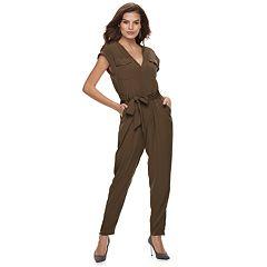 Women's Jennifer Lopez Utility Jumpsuit