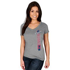 Women's Majestic Cleveland Indians Fearsome Tee