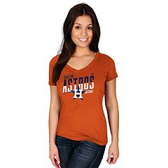 Women's Majestic Houston Astros Crank Up Tee
