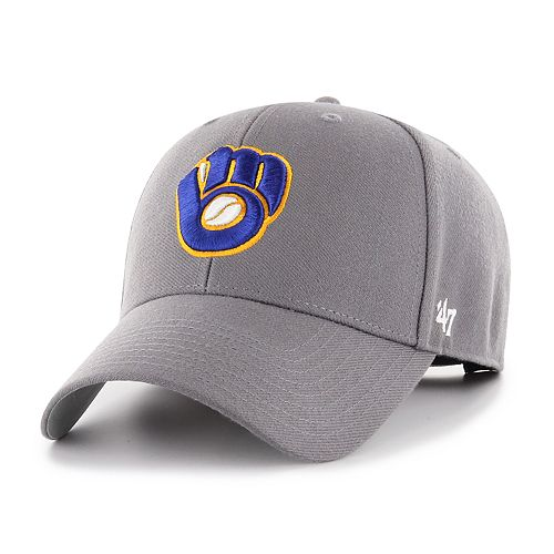 9e19157e7c99cc Men's '47 Brand Milwaukee Brewers MVP Hat