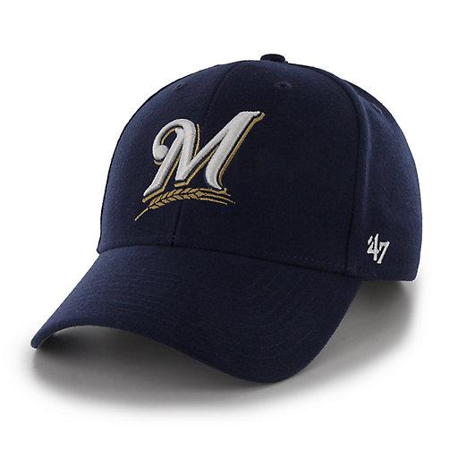 buy popular d3bd8 d58cd Men s  47 Brand Milwaukee Brewers MVP Hat