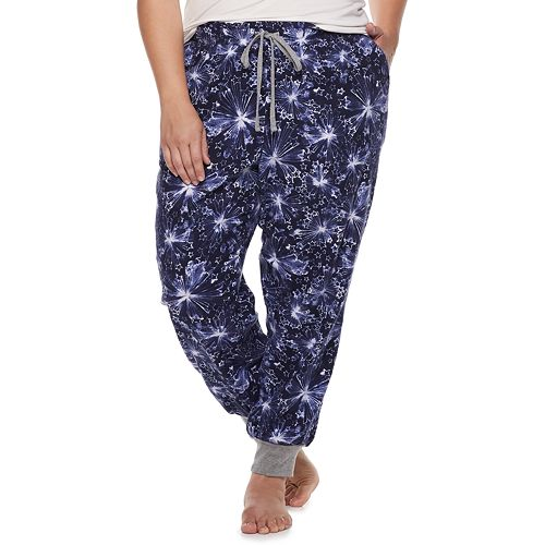 136399105fb90 Plus Size SONOMA Goods for Life™ Flannel Joggers
