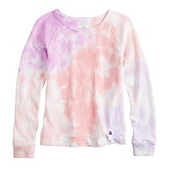 Girls 7-16 SO® Tie-Dye French Terry Sweatshirt