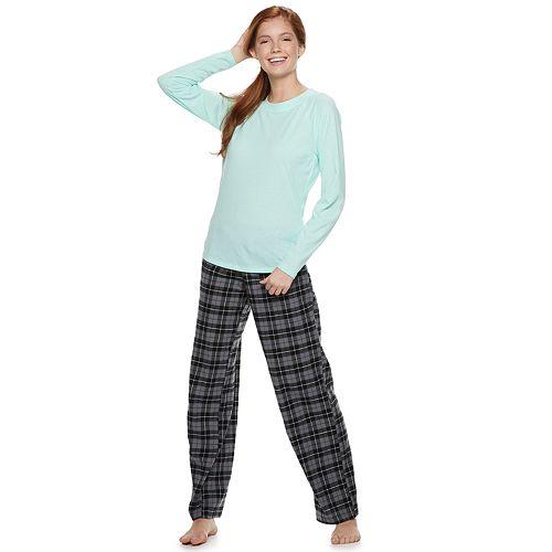 Juniors' SO® 3-piece Sleep Tee, Pants & Sleep Shorts Pajama Set