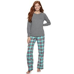 Juniors' SO® 3-piece Tee, Pants & Shorts Pajama Set
