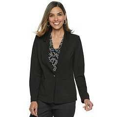 Petite Dana Buchman Travel Anywhere Solid Blazer