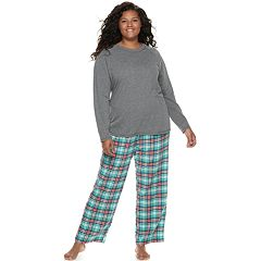 Plus Size SO® 3-piece Tee, Pants & Shorts Pajama Set