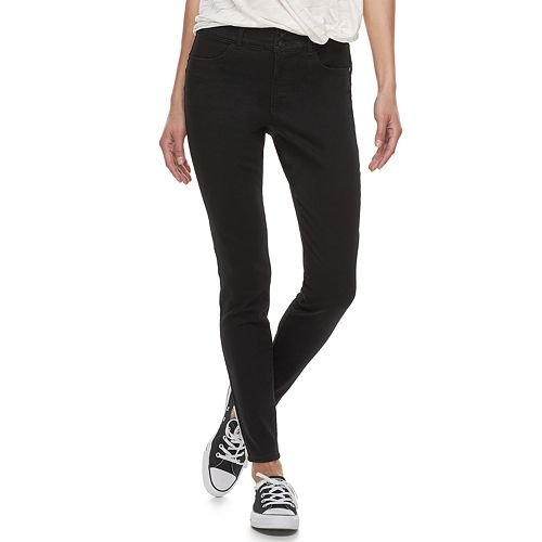 Juniors' Candie's® Mid-Rise Sculpt Skinny Jeans