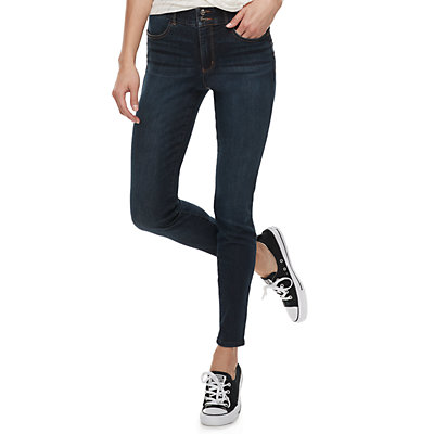 Juniors' Candie's® Mid-Rise Sculpt Skinny Jeans