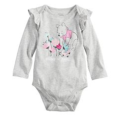 Disney's Winnie the Pooh Baby Girl Ruffle Bodysuit by Jumping Beans®