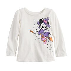 Disney's Minnie Mouse Witch Baby Girl Graphic Halloween Tee by Jumping Beans®
