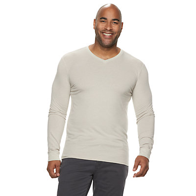 Big & Tall SONOMA Goods for Life? Supersoft Slim-Fit V-Neck Tee