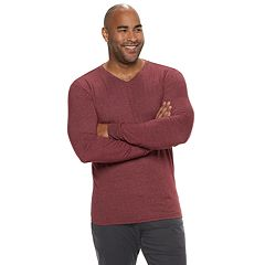 Big & Tall SONOMA Goods for Life™ Supersoft Slim-Fit V-Neck Tee