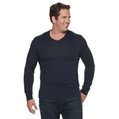 Big & Tall SONOMA Goods for Life™ Supersoft V-Neck Tee