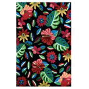 Couristan Covington Bloomfield Floral Indoor Outdoor Rug
