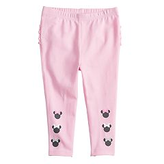 Disney's Minnie Mouse Baby Girl Ruffle Back Leggings by Jumping Beans®
