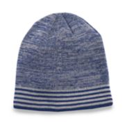 Men's Tek Gear? WarmTek Marled Striped Reflective Beanie