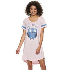Juniors' Peace, Love & Fashion Graphic Sleepshirt