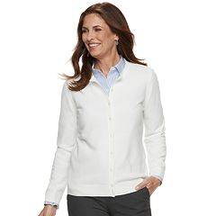 Women's Croft & Barrow® Classic Extra Cozy Cardigan