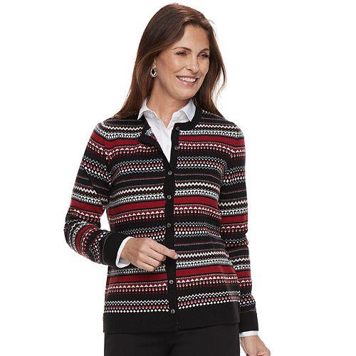 40061010401 Women s Croft   Barrow® Classic Extra Cozy Cardigan