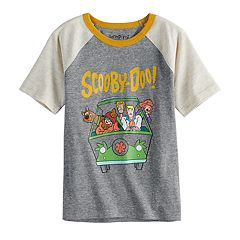 Boys 4-10 Jumping Beans® Retro Scooby-Doo Mystery Machine Van Raglan Graphic Tee