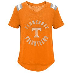 Girls 7-16 Tennessee Volunteers Retro Block Slubbed Vintage Tee