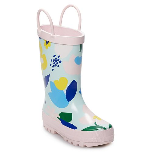 Carter's Britle Toddler Girls' Waterproof Rain Boots