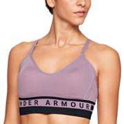 Women's Under Armour Seamless Longline Low-Impact Sports Bra