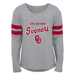 Girls 7-16 Oklahoma Sooners Field Armour Tee