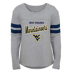 Girls 7-16 West Virginia Mountaineers Field Armour Tee