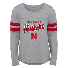 Girls 7-16 Nebraska Cornhuskers Field Armour Tee