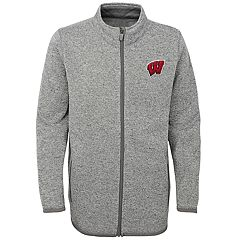 Boys 8-20 Wisconsin Badgers Lima Fleece Jacket