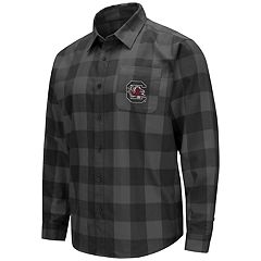 Men's South Carolina Gamecocks Plaid Flannel Shirt