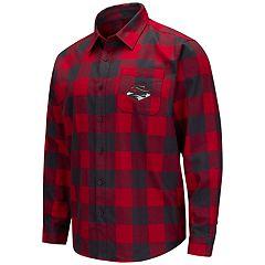 Men's UNLV Rebels Plaid Flannel Shirt