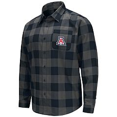 Men's Arizona Wildcats Plaid Flannel Shirt