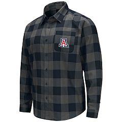 Men's Arizona Wildcats Plaid Flannel Shirt
