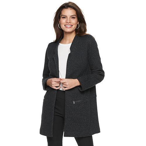 Women's Apt. 9® Open-Front Car Coat