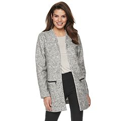 Women's Apt. 9® Open-Front Car Coat