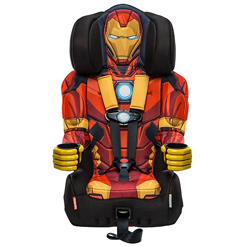 Marvel Avengers Iron Man Combination Booster Car Seat by KidsEmbrace