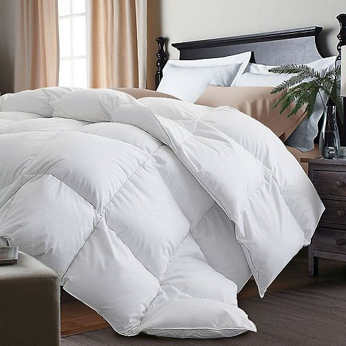 Royal Majesty White Goose Feather & Down Comforter